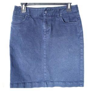 JONES NEW YORK, denim skirt with pockets,